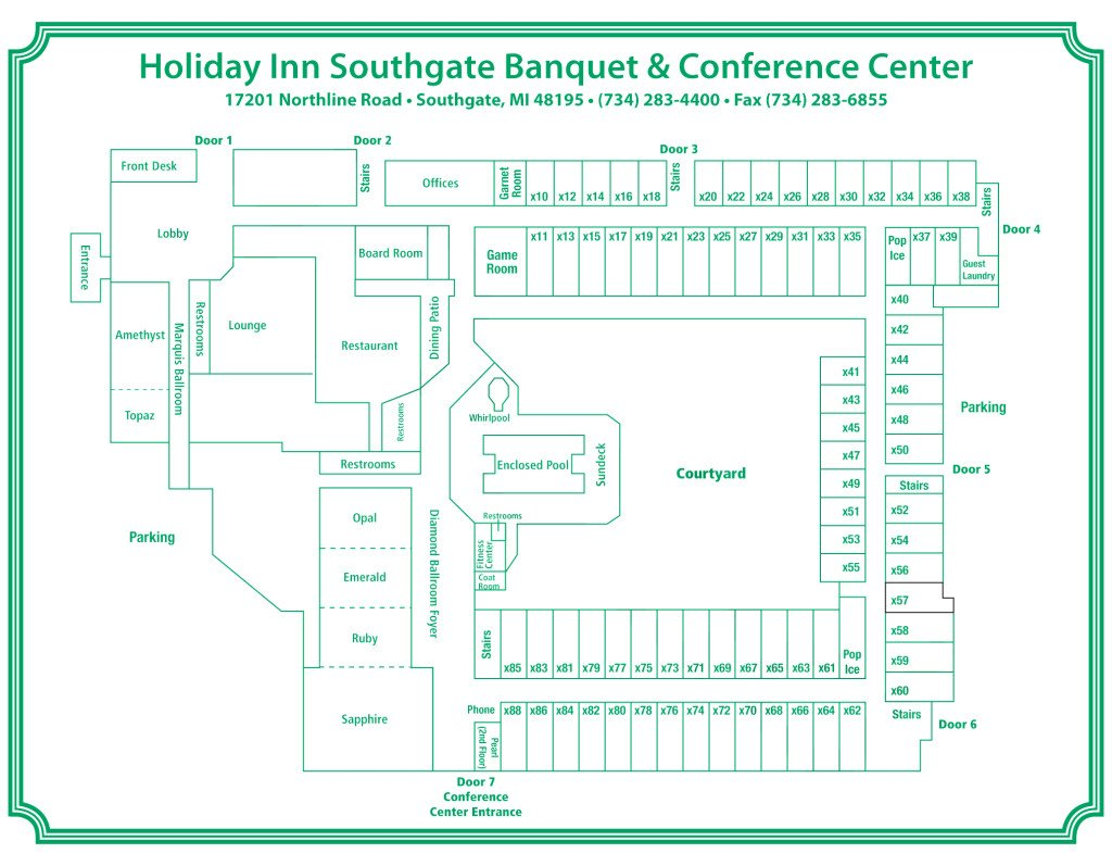 Reservations Holiday Inn Southgate Banquet And