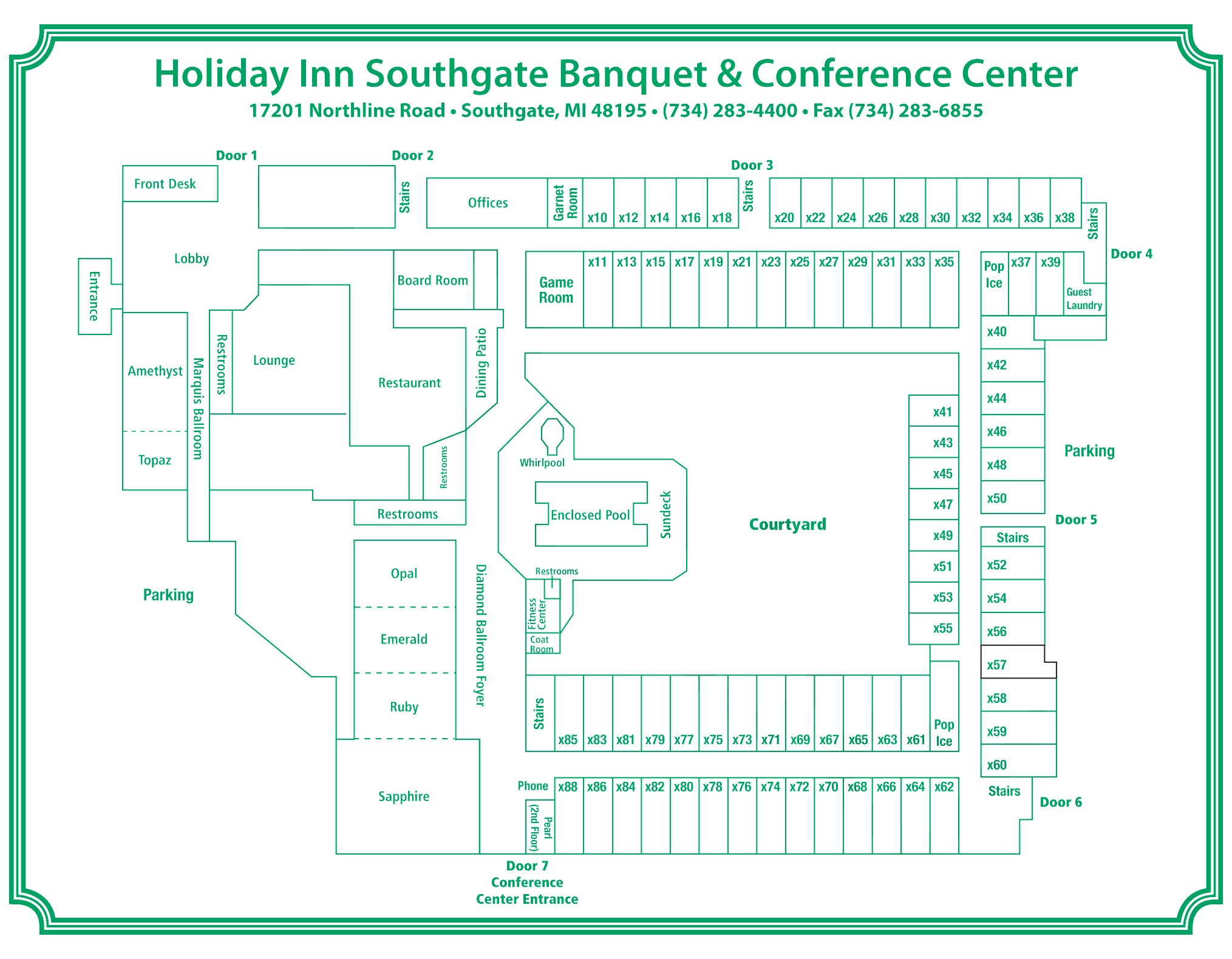 Reservations - Holiday Inn Southgate Banquet and ...